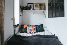 A Tiny Swedish Apartment Makes the Most of 355 Square Feet
