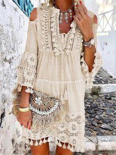 Shift Dresses, Maxi Dresses, Sleeve Dresses, Fashion Dresses, Dance Dresses, Party Dresses, Boho Mini Dress, Short Mini Dress, White Boho Dress