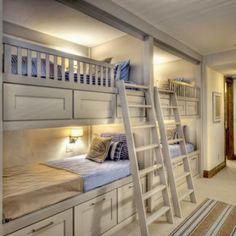 bunk beds w/ drawer storage