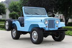 '60 Jeep CJ5 ... w/ Willys designed 2.2 liter four mated to a T90 3-speed transmission and Spicer 18 transfer case.