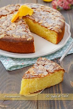 Sweet Recipes, Cake Recipes, Tortillas Veganas, Sin Gluten, Torte Cake, Kinds Of Desserts, Almond Cakes, Something Sweet, Gluten Free Recipes