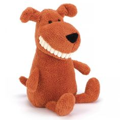 Smiling dog! What's not to like!? #jellycat #dog