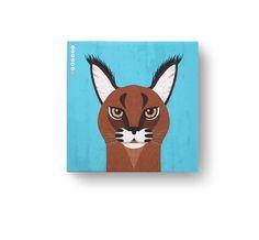 카라칼 / 이야기가 있는 그림, 멸종위기동물 캠페인