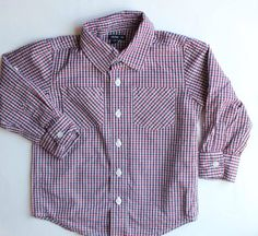 Boys Button Down Shirt by Baby Gap, Size 3T ~ Buy Resale and Save Big!