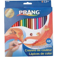 Prang is a great brand for elementary classrooms. Colors blend and they are great for drawing. Not as wonderful as Prismacolors, but great when you have a lot of students and a budget.