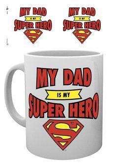 Dc Comics Superman Dad Superhero - Mok