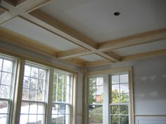 Coffer Coffered Ceilings And Ceilings On Pinterest