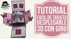 Tutorial fácil Tarjeta desplegable pop up con giro (twist & pop card)