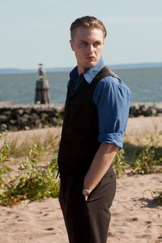 "Michael Pitt as James ""Jimmy"" Darmody on HBO's Boardwalk Empire"