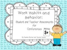 {freebie} a resource for parent teacher conferences