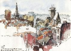 http://www.urbansketchers.org/2015/11/the-liege-usk-book-presentation-days.html