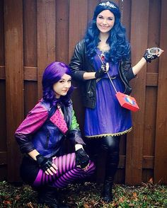 We're rotten to the core and super excited to celebrate Isabella's 7th birthday! #girlygirlparteas #EPICcharacters #descendants #mal #evie