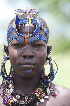 Yes, there are beautiful people on the continent of Africa -- not just exotic animals.