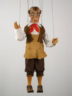 """VSG s.r.o. """"Czech Puppets"""" :: Wood marionettes :: Gepetto, Djepetto, Puppeteer , marionette"""