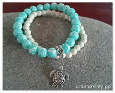 Check out this item in my Etsy shop https://www.etsy.com/listing/233949326/stackable-turtle-charm-bracelet
