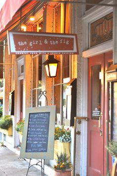 The Girl and the Fig - great restaurant in Downtown Sonoma!