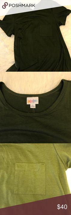 L Lularoe Carly Olive Green L Lularoe Carly Olive Green LuLaRoe Dresses