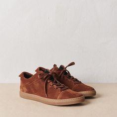 sneaker - terracotta