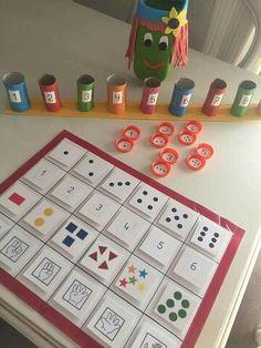 Montessori Math, Preschool Math, Kindergarten Math, Teaching Math, Elementary Science, Elementary Education, Math Games, Preschool Activities, Preschool Worksheets