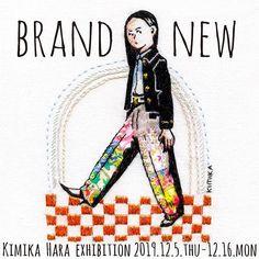 @kimikahara • Instagram写真と動画 Brand New, Instagram, Embroidery, Artists