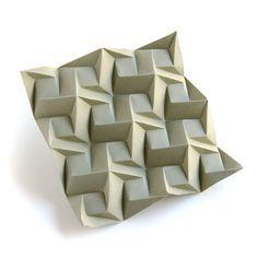 #origami #tessellation Squares-1-C-Iso
