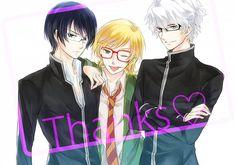 Rei, Toki, and Heike