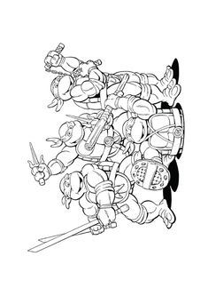 25 fun ninja turtles coloring pages your toddler will love to do - Coloring Pages Spiderman Printable