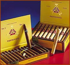 Montecristo #2 Cigars - a great after dinner treat!