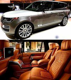 My Dream Car, Dream Cars, Range Rover Interior, Landrover Range Rover, Luxury Van, Range Rover Supercharged, Range Rover Sport, Range Rovers, Suv Cars