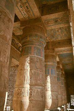 Mortuary Temple of Rameses III - Medinet Habu