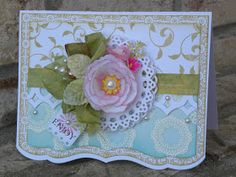 paper wishes: ...spring flowers in The Shabby Tea Room...
