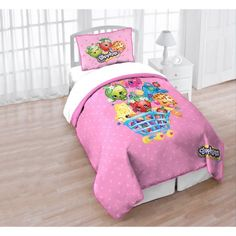 Shopkins Quilt and Sham Twin/Full