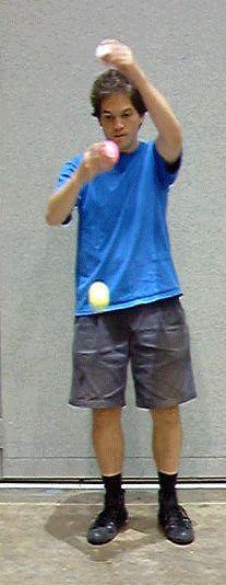 3 Ball Single Column Yo-yo.