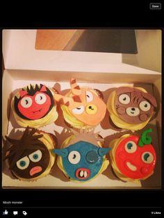Moshi monsters cupcake
