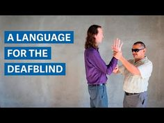Pro-tactile ASL: A new language for the DeafBlind Asl Videos, Teachers Toolbox, Multiple Disabilities, Deaf Culture, American Sign Language, Speech Therapy, Politics, Teaching, Signs