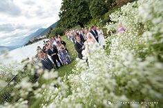 outdoor wedding at Villa Rusconi Clerici - Lake Maggiore
