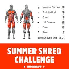 Will you accept the challenge? The fastest way to reveal your abs - sprint and sweat. Fitness Gym, Muscle Fitness, Fitness Motivation, Health Fitness, Fitness Tips, Bodybuilder, Summer Shredding, Calisthenics Workout, Street Workout