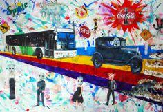 Collage de Sebastián Guerrero. 2011.  Collage / Clase de Arte