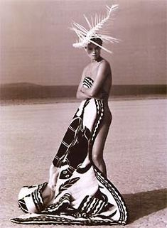 Available for sale from Hamiltons Gallery, Herb Ritts, Now and Zen El Mirage Gelatine silver print, 14 × 11 in Michael Roberts, Herb Ritts, Zen 2, John Galliano, Portrait Inspiration, Headdress, Fashion Beauty, Fashion Photography, Artsy