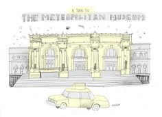 @Mandy Fatemi will love these illustrations: All the Buildings in New York