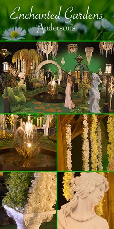 Enchanted Garden Complete Prom Theme