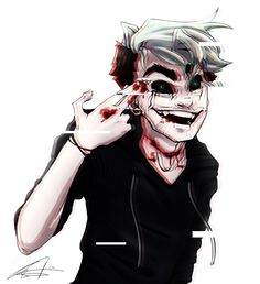 AntiSepticEye by kakarotcakes <<< omg this art is amazing, I love it soo much <33