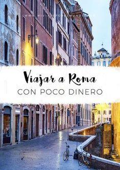 Consejos para visitar Roma con poco dinero - Viajar barato a Roma #viajar #roma #italia #europa #ahorro Oh The Places You'll Go, Places To Visit, Real Castles, Urban Life, World Traveler, Study Abroad, Italy Travel, Where To Go, Travel Around