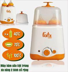 Làm nóng sữa cho bé uống với máy hâm sữa