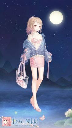 Japonese Girl, Anime Princess, Up Game, Anime Outfits, Cas, Cool Art, Cool Stuff, Dress, Clothes