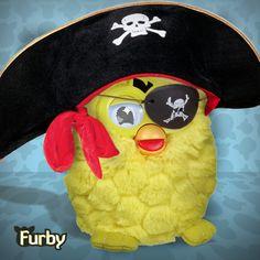 Pirate Furby! #FurbyHalloween #Costume