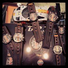 "Exquisite Timepieces®️ on Instagram: ""BRM Gulf Collection!  All Limited. Exclusive Gulf Dealer! #BRM #gulf #gulfford #fordgt #brmgulf #watches #watch #timepieces #timepiece"" Brm Watches, Ford Gt, Leather, Accessories, Collection, Instagram, Jewelry Accessories"