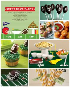 Football party ideas.