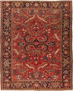 Heriz Antique Persian Rug