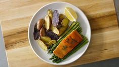 Sheet Pan Salmon & Veggies Recipe on Yummly. @yummly #recipe